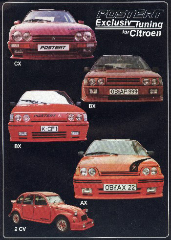 Exclusiv Tuning for Citroen Poster